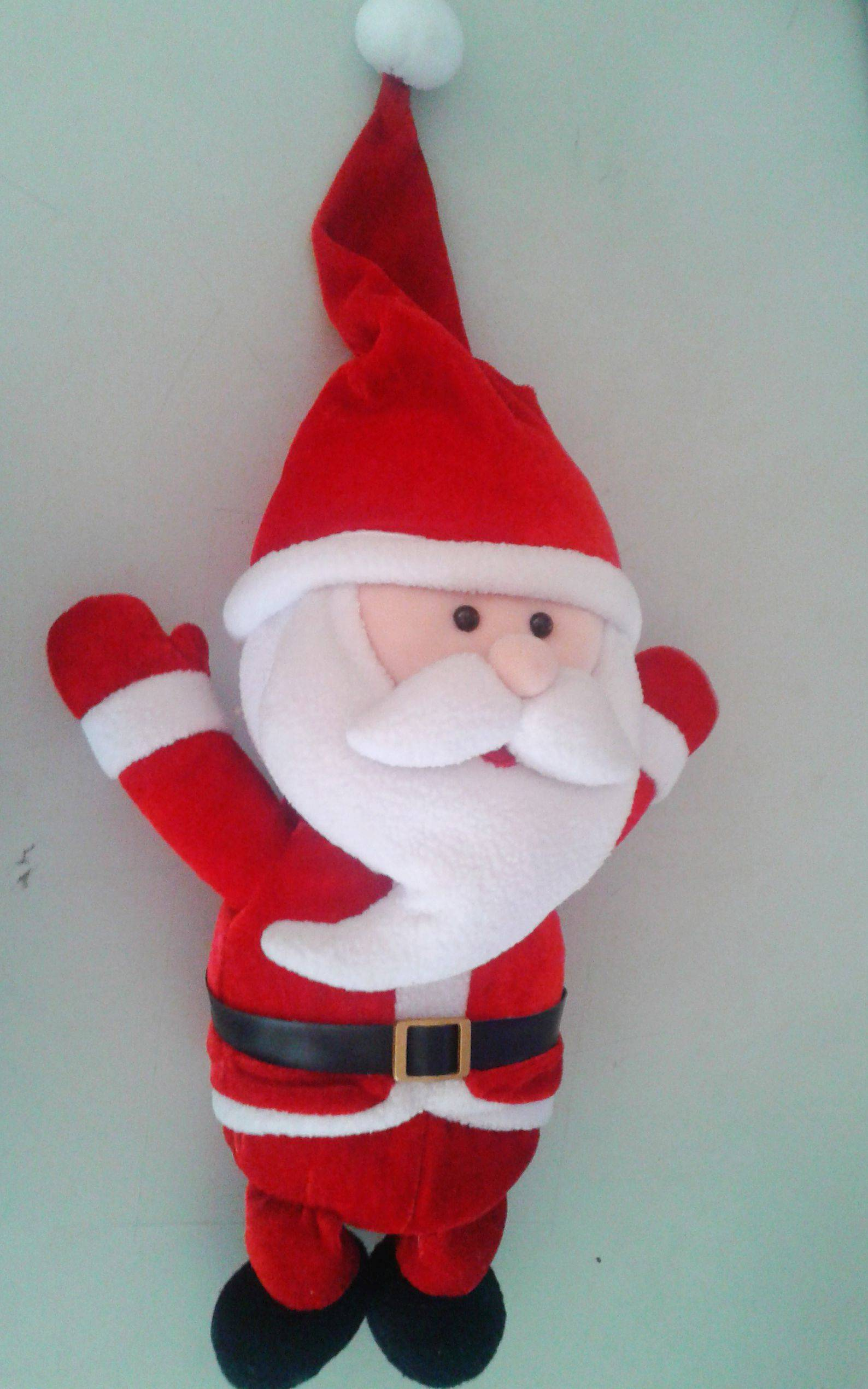Make Your Own Design Stuffed Santa Claus