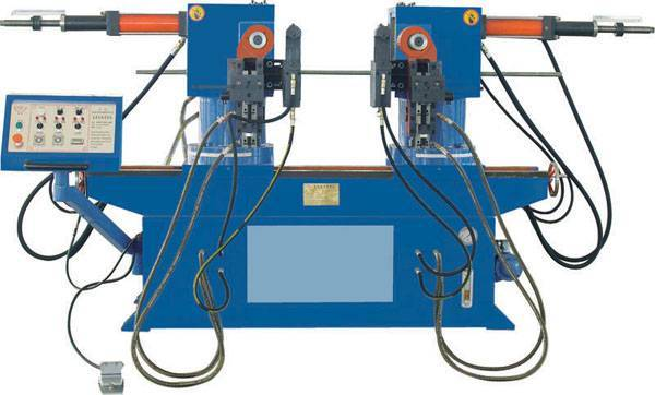 We sell double-head pipe bending machine