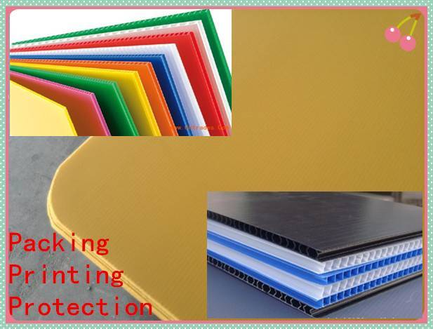 PP corrugated plastic hollow board