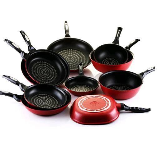 Aluminium die cast cookware