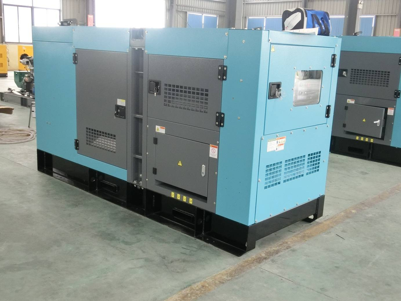 Global Services 500kw Silent Industrial use Generator Set
