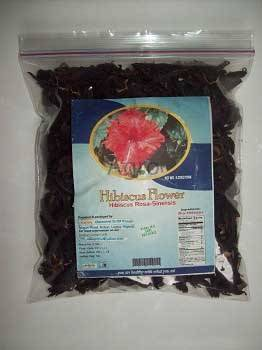 HIBISCUS FLOWER DRY ORGANIC