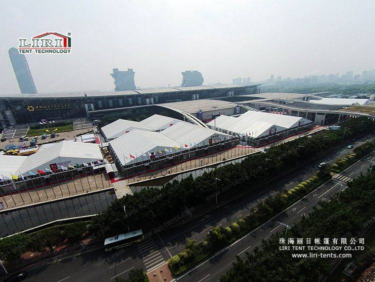 40m Big Canton Fair Exhibition Marquee Tent for Sale