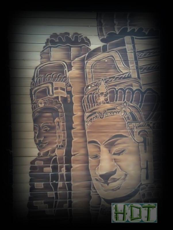 Handmade Bamboo Painting (India's Ancient Culture Artwork)_ This Is Not Painted