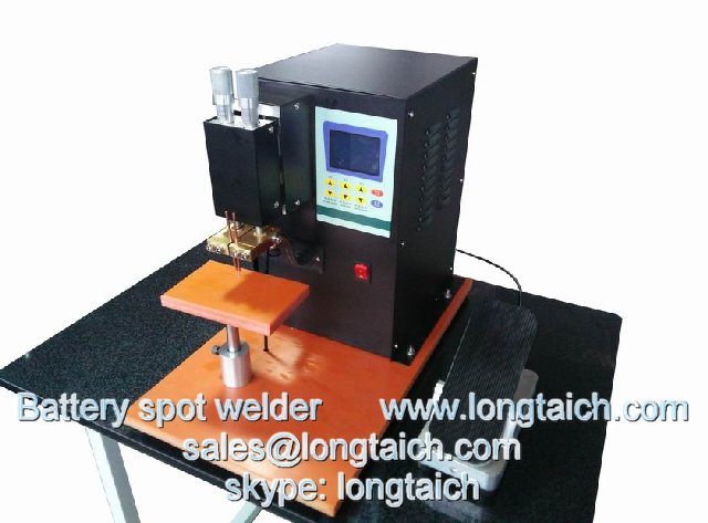 Battery spot welder for 18650 battery pack