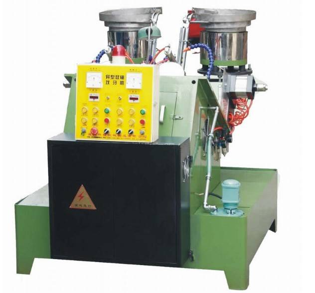The multifunctional 2 spindle special nut tapping machine
