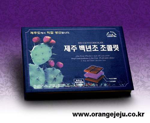 Selling Jeju cactus Chocolate