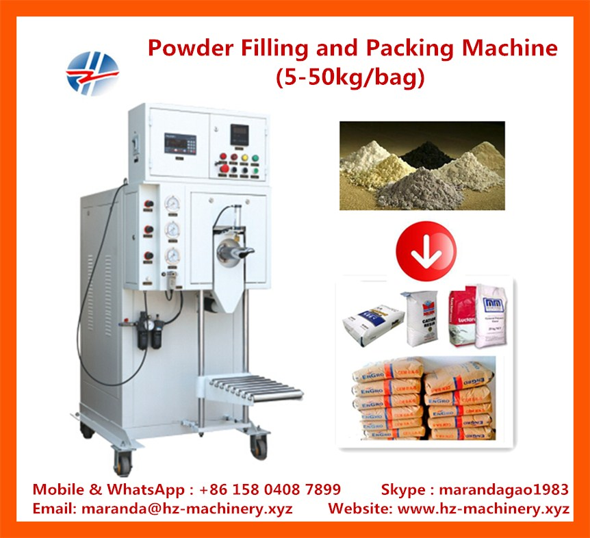 powder filling and packing machine