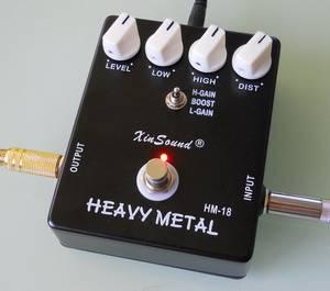 Heavy Metal Distortion Guitar Effect Pedal