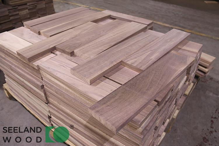 American black walnut flooring raw material