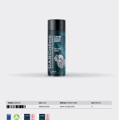 Liquid Grease Spray