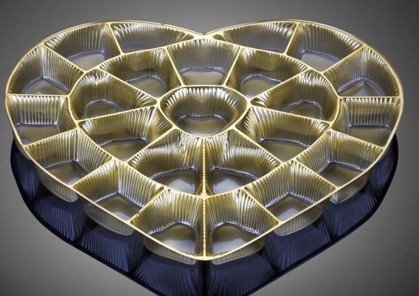 Polystyrene Chocalate plastic tray