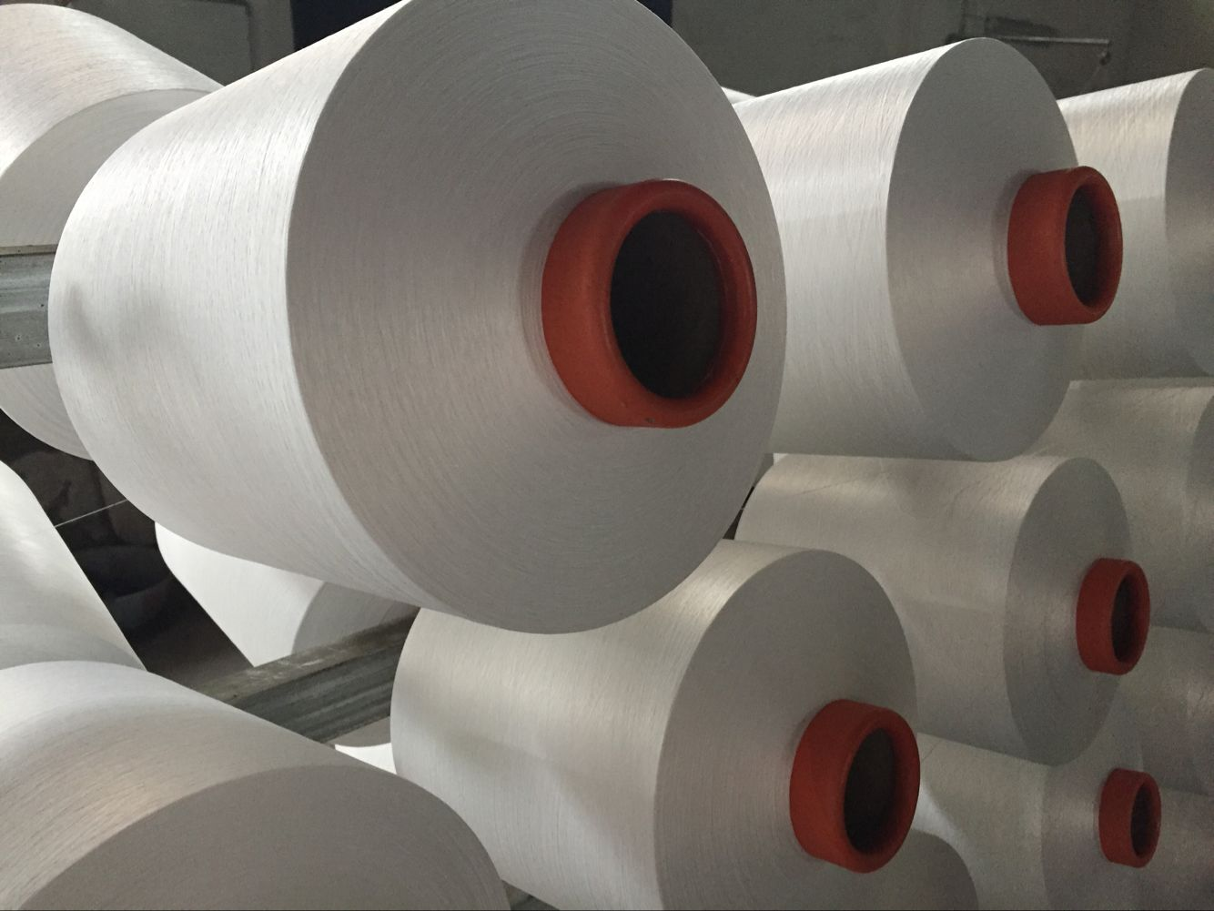 Polyester Yarn DTY 150D/144F SIM Intermingled with dyeing guarantee