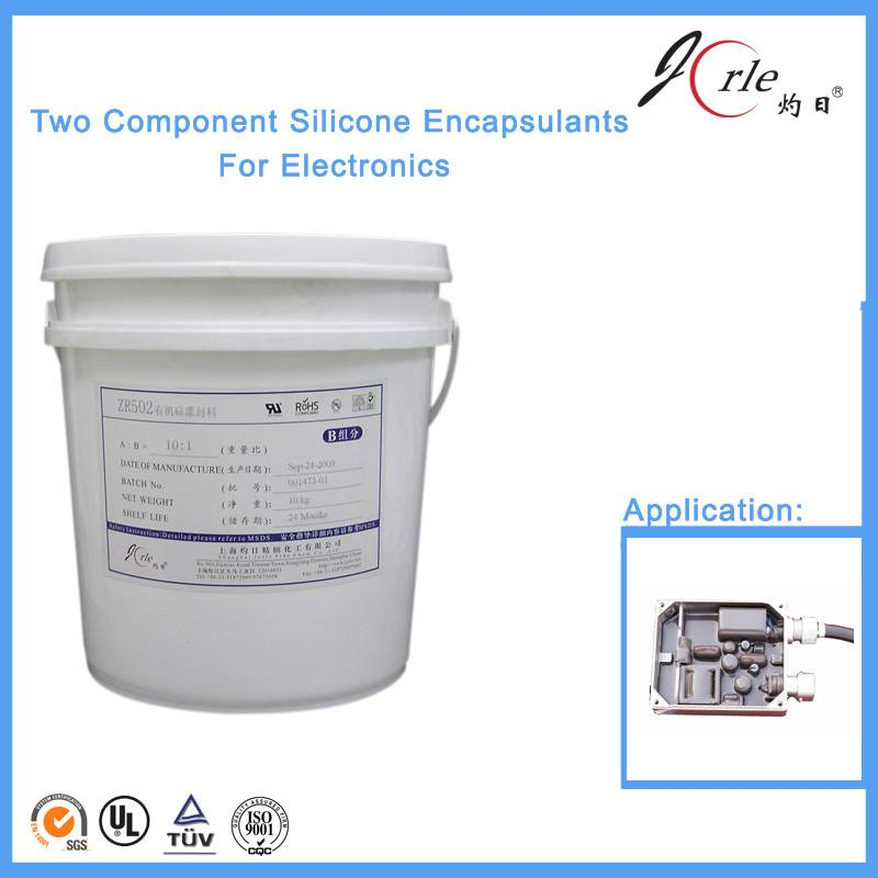 thermal transfer silicone potting compound