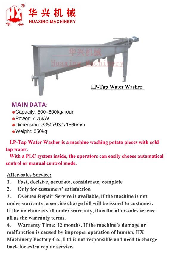 LP-Tap Water Washer
