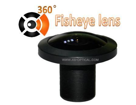 XS-6002-961 5MP 1.20mm FOV 210-degree megapixel fisheye lens