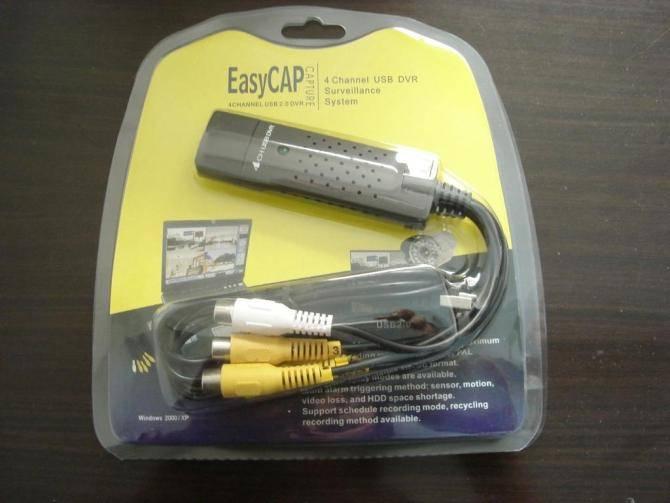 USB 2.0 VIDEO grabber