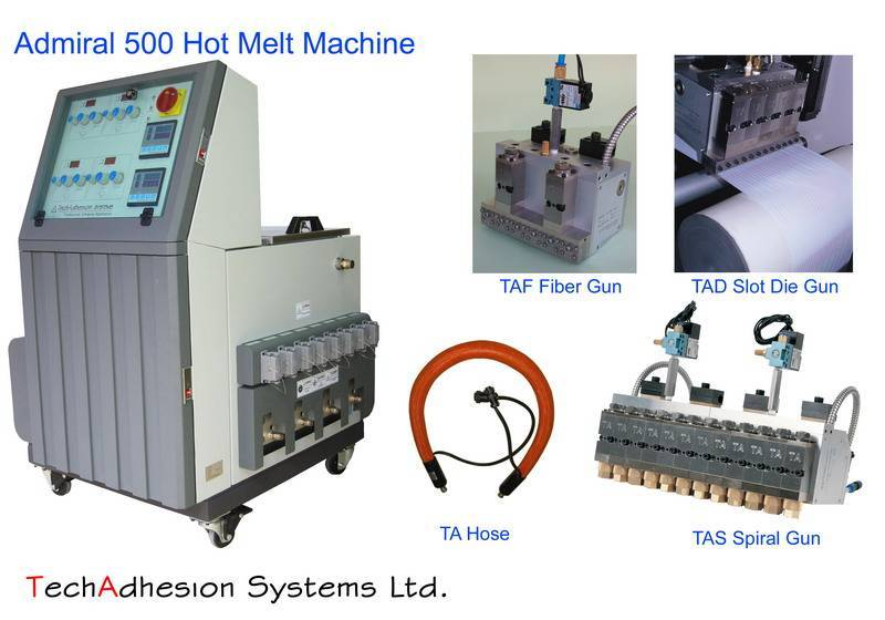 TechAdhesion Hot melt adhesive equipment