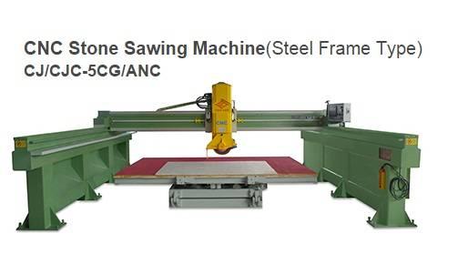 CNC Bridge Sawing Machine (Steel Frame Type) CJ/CJC-5CG/ANC