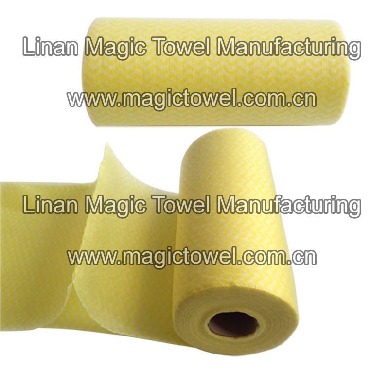 Nonwoven Fabric Household Cleaning Cloth/cleaning wipe/magic cleaning cloth/kitchen wipes/