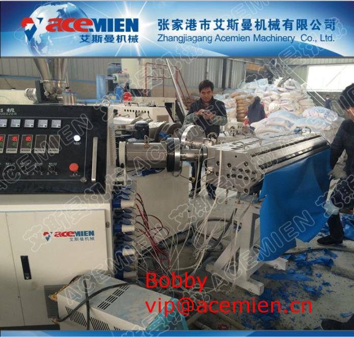 Plastic Trapezoidal Roof Sheet Forming Machine