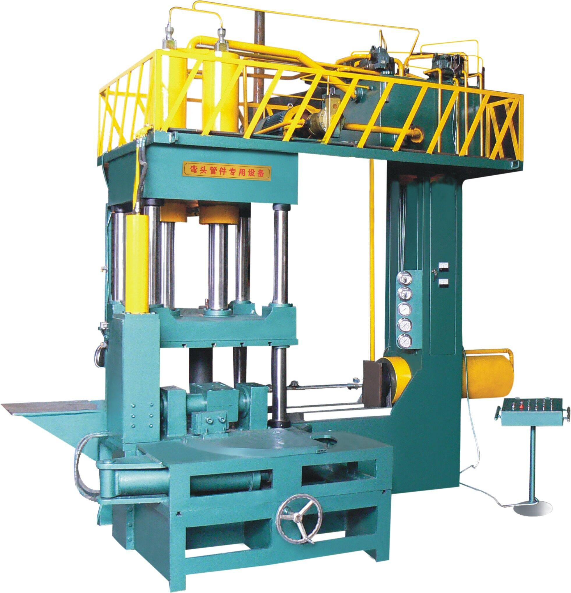 straight seam cold forming elbow machine
