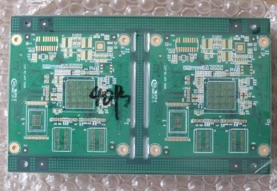 micro BGA printed circuits