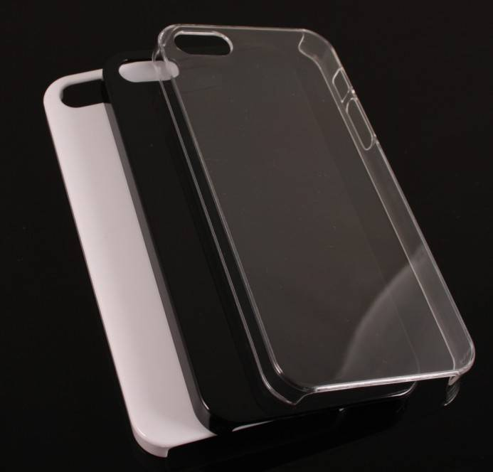 i-phone 5 case clear ,black and white color new cases for iphone 5,acceptable for 4/4s