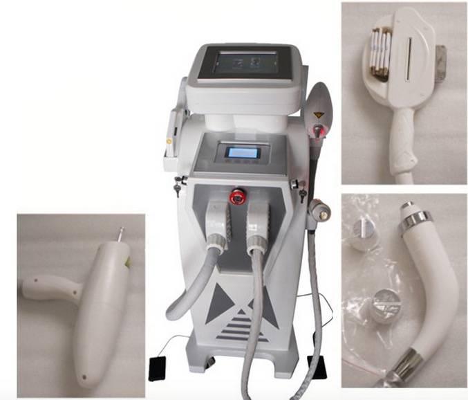 3 handles IPL RF Laser beauty machine