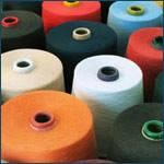Cotton Yarn , Synthetic spun yarn , used Textile machinery