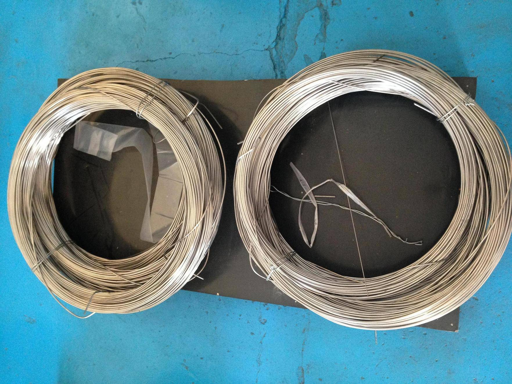titanium welding wire, coiling, apple wire