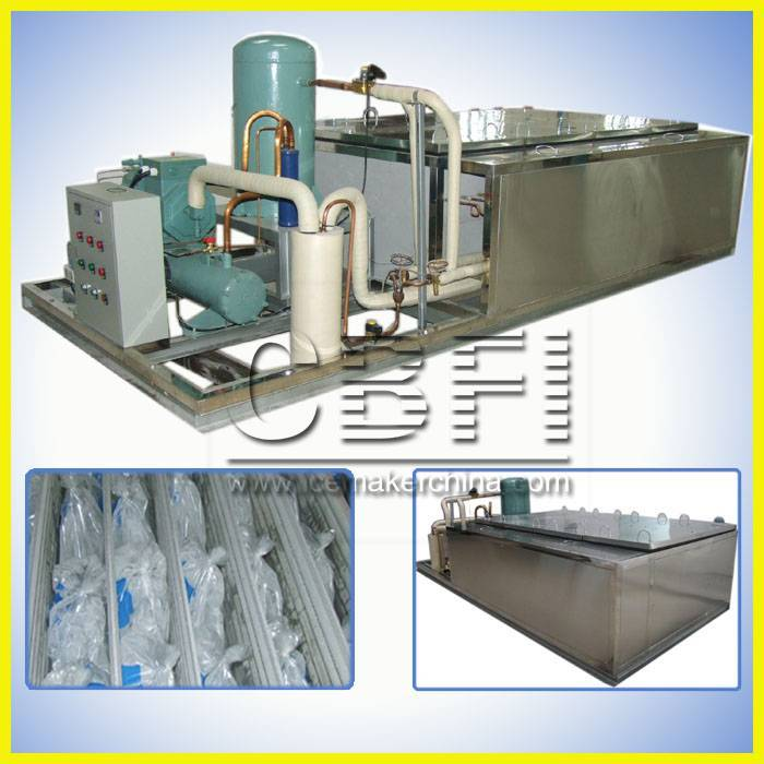 Bag Block Ice Machine