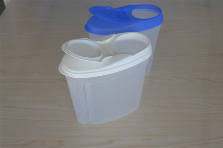 plastic storage food cereal container with lid