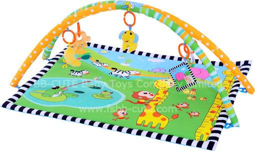 Animals family baby play mat