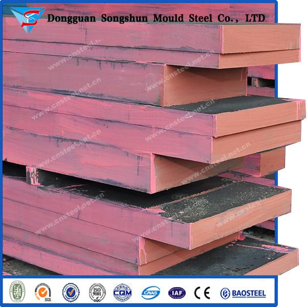 Hot rolled DIN 1.6511/AISI 4340 steel plates