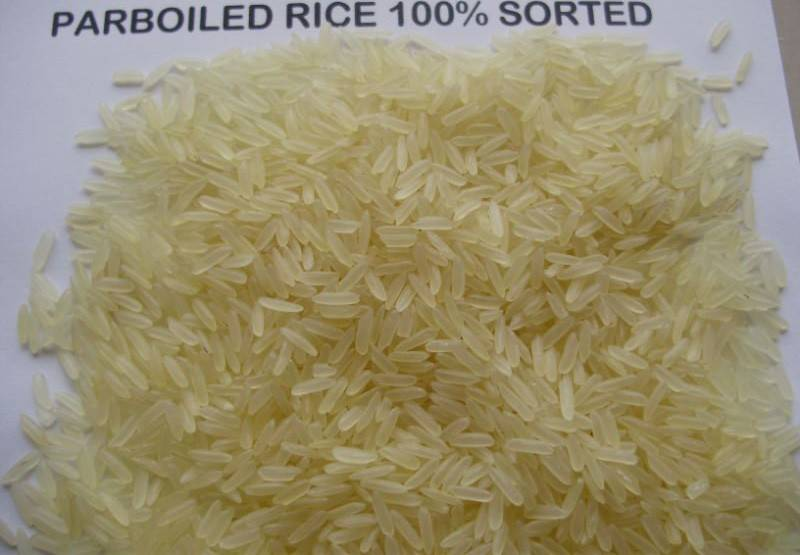 Irri-6 Parboiled Long Grain Rice.