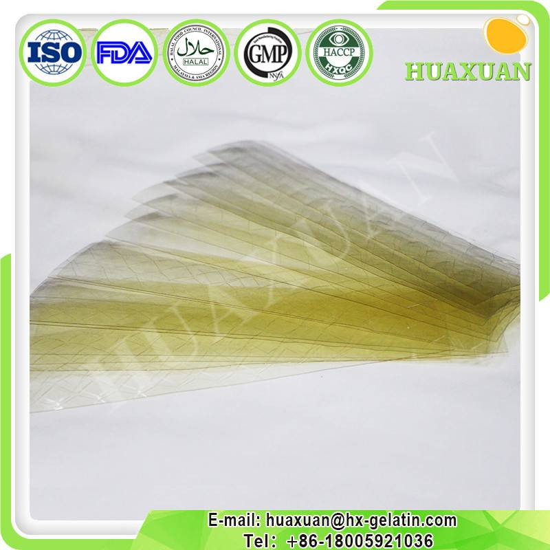HALAL leaf gelatin 200 bloom for food