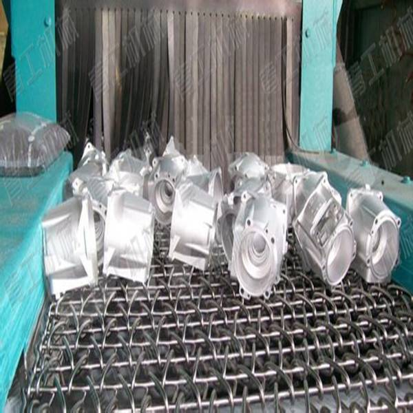Top Quality Customized Metal Wire Mesh Conveyor Belt Shot Peening Machine