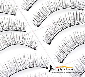 Artificial eyelash sections