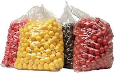 Industrial gelatin for paintballs