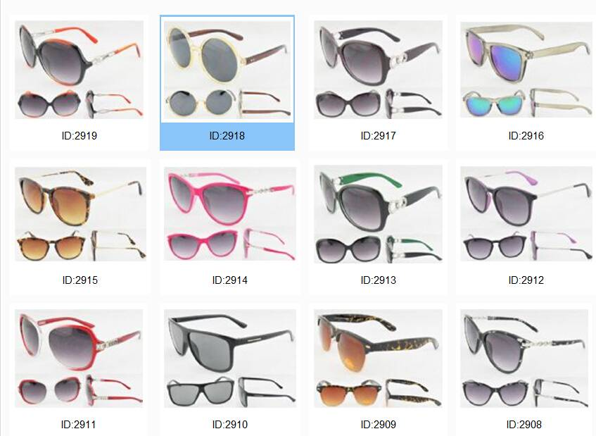 Retro round shape women plastic sunglasses vintage classic sun glasses