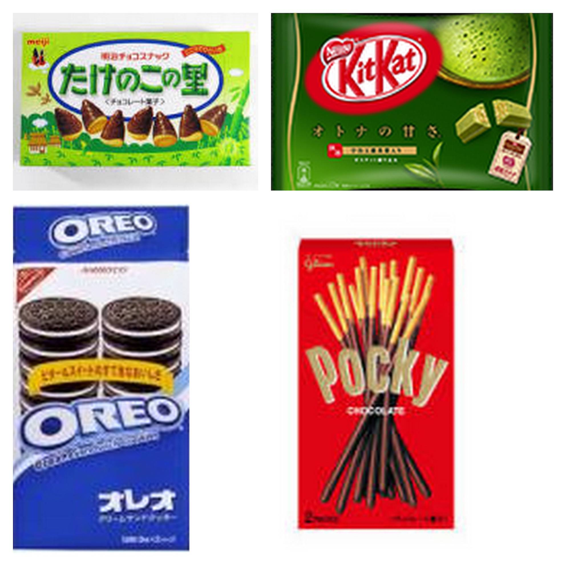 Japanese Snacks and Candies like Meiji, Glico etc....