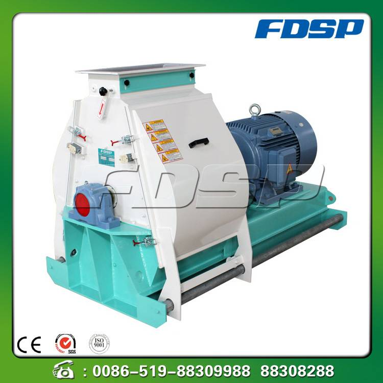 High performance wood crush pulverizer