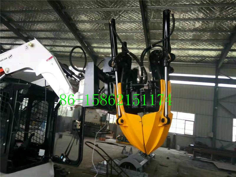 China skid loader tree remover