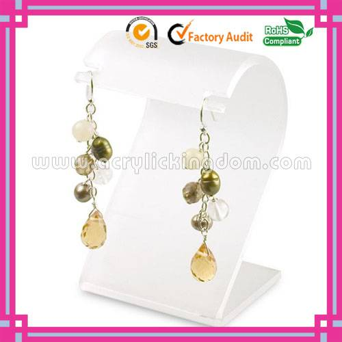 Fashion design acrylic earring display