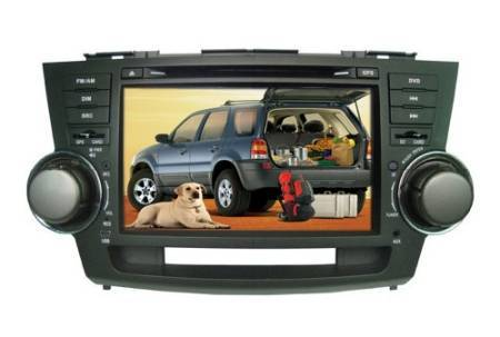Touchscreen Car DVD Player for Toyota Highlander