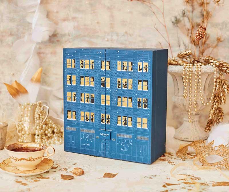 Custom Printed Gift Cardboard Packaging Chocolate Advent Calendar