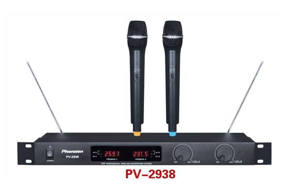 PV-2938 VHF wireless microphone
