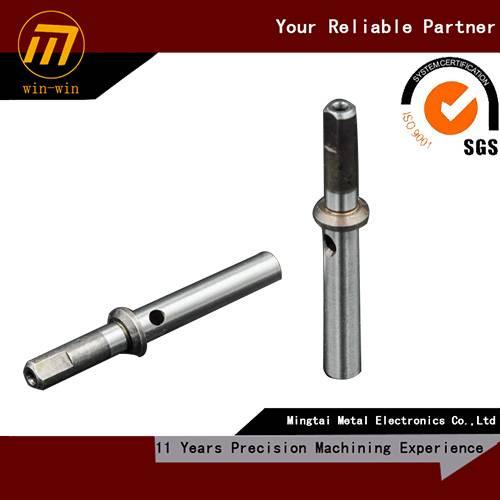 custom precision CNC machining shaft, drawing welcome