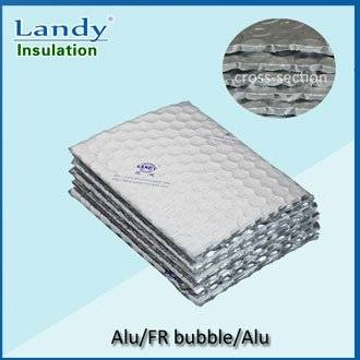 aluminum foil fireproof bubble insulation